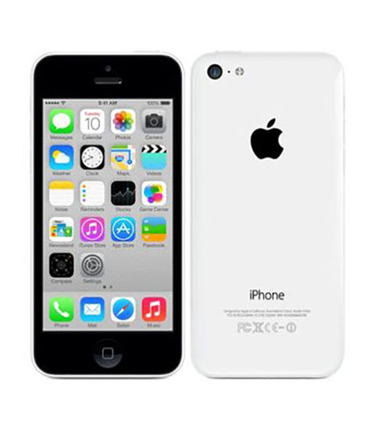 iPhone5c 32GB(ホワイト)