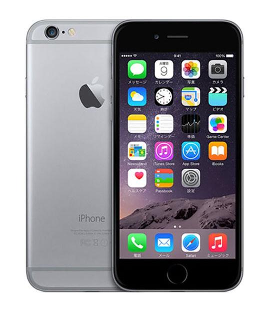 iPhone6 128GB(スペースグレイ)