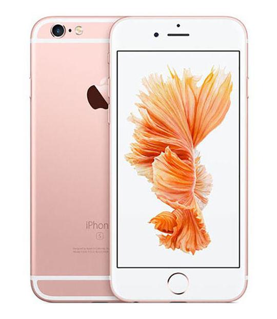 【中古】【安心保証】 docomo iPhone6s[16G] ローズゴールド SIMロック解除済