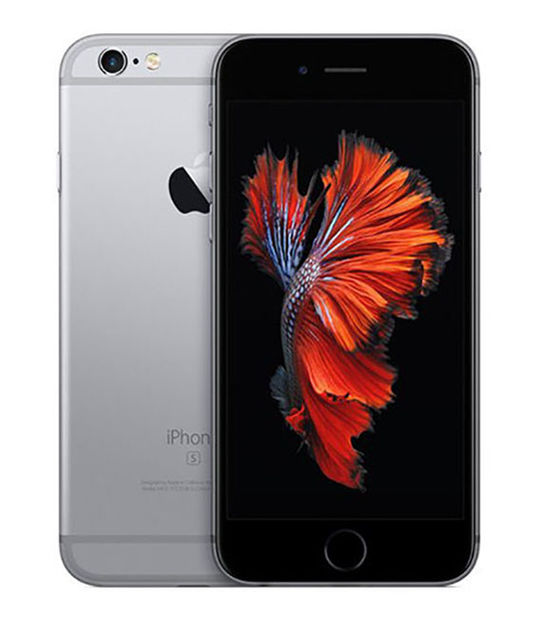 【中古】【安心保証】 docomo iPhone6s 16GB スペースグレイ SIMロック解除済