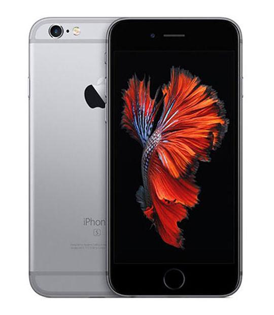 【中古】【安心保証】 docomo iPhone6s[128G] スペースグレイ SIMロック解除済