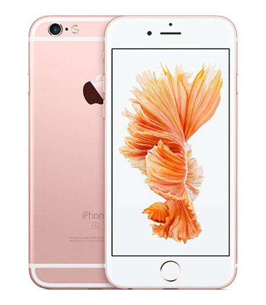 【中古】【安心保証】 SoftBank iPhone6s[128G] ローズゴールド SIMロック解除済