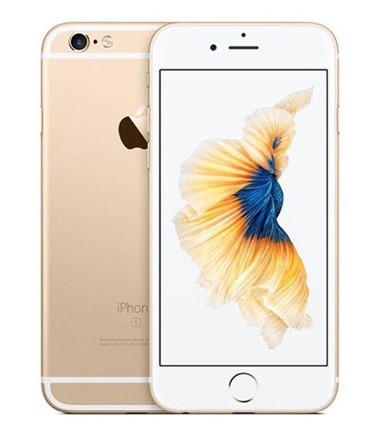 【中古】【安心保証】 SoftBank iPhone6s 128GB ゴールド SIMロック解除済