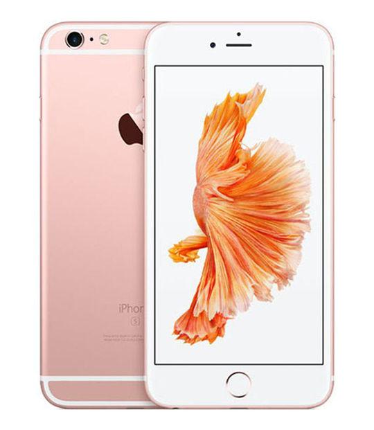 【中古】【安心保証】 SoftBank iPhone6sPlus 128GB ローズゴールド SIMロック解除済