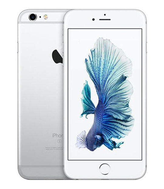 【中古】【安心保証】 SoftBank iPhone6sPlus 128GB シルバー SIMロック解除済