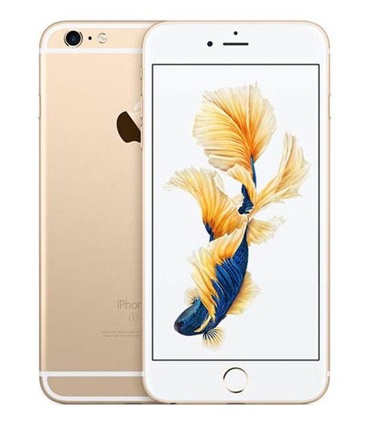 【中古】【安心保証】 SoftBank iPhone6sPlus 128GB ゴールド SIMロック解除済