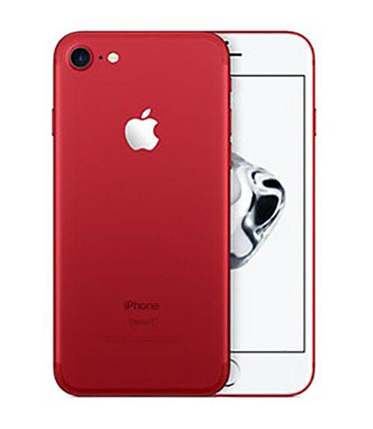 【中古】【安心保証】 docomo iPhone7[128G] レッド SIMロック解除済
