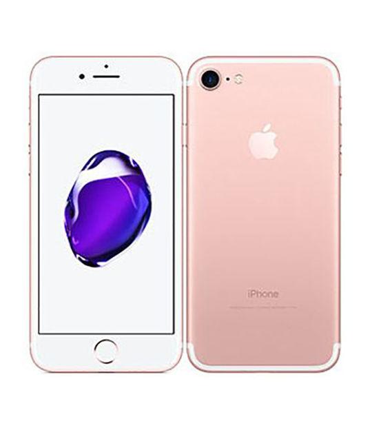 【中古】【安心保証】 docomo iPhone7[256G] ローズゴールド SIMロック解除済
