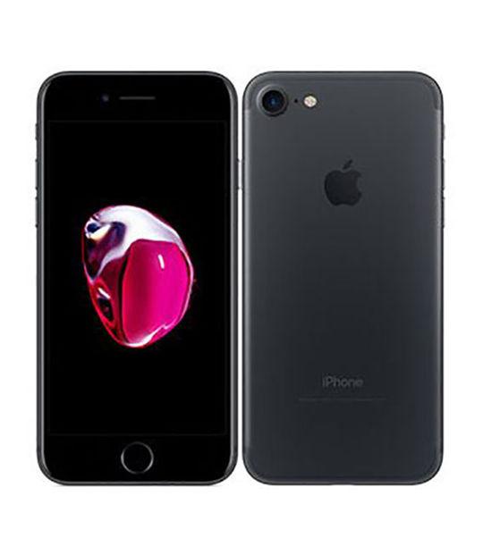 【中古】【安心保証】 docomo iPhone7[256G] ブラック SIMロック解除済