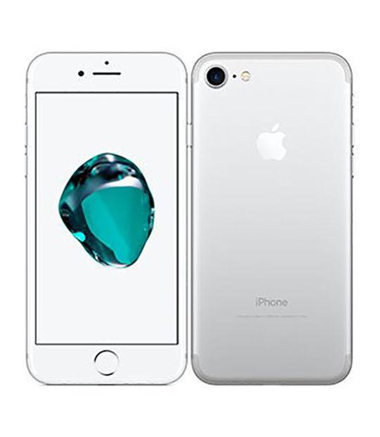 【中古】【安心保証】 docomo iPhone7[128G] シルバー SIMロック解除済