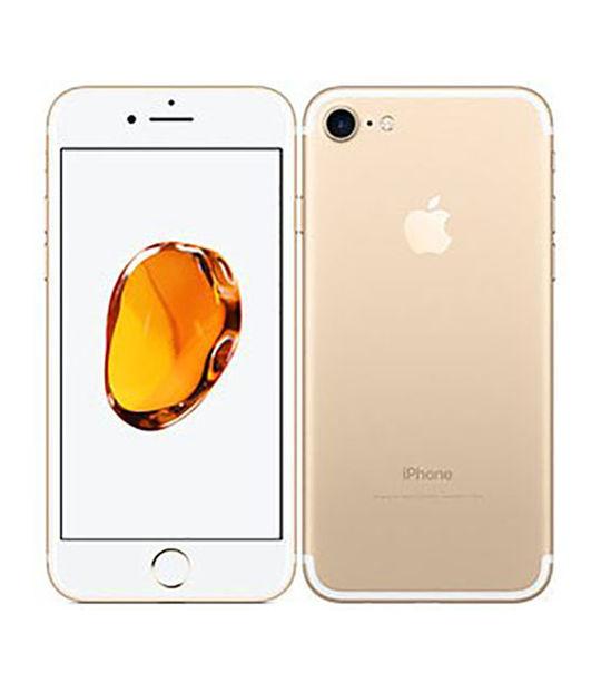 【中古】【安心保証】 docomo iPhone7[128G] ゴールド SIMロック解除済