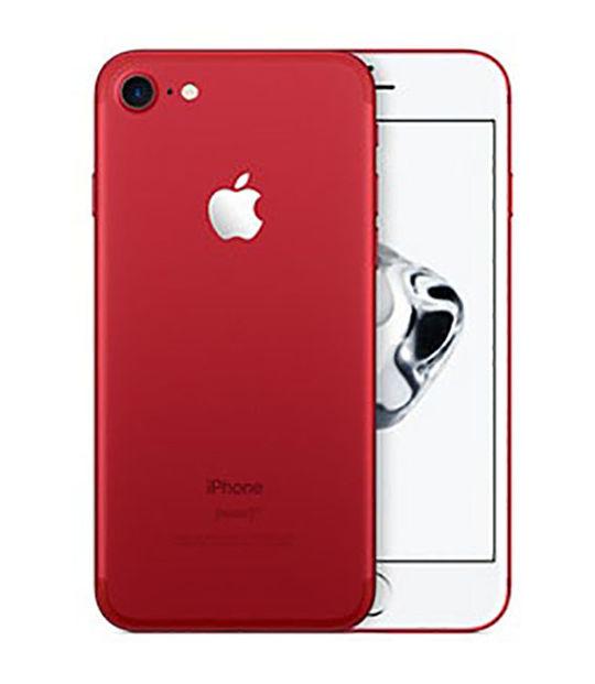 【中古】【安心保証】 SoftBank iPhone7[256G] レッド SIMロック解除済