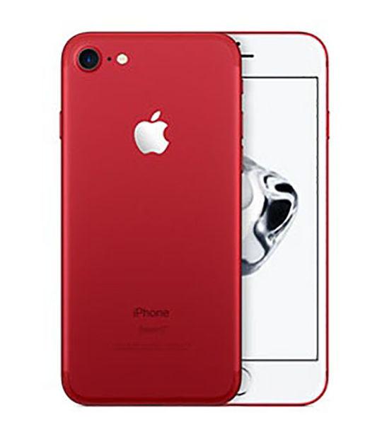 【中古】【安心保証】 SoftBank iPhone7[128G] レッド SIMロック解除済
