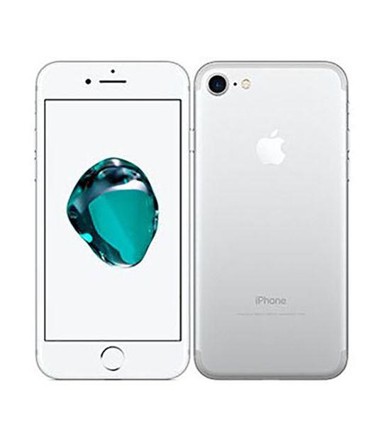 【中古】【安心保証】 SoftBank iPhone7[256G] シルバー SIMロック解除済