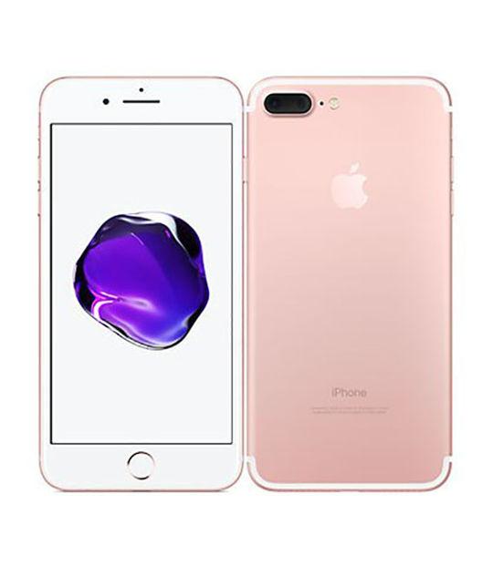 【中古】【安心保証】 docomo iPhone7Plus[32G] ローズゴールド SIMロック解除済