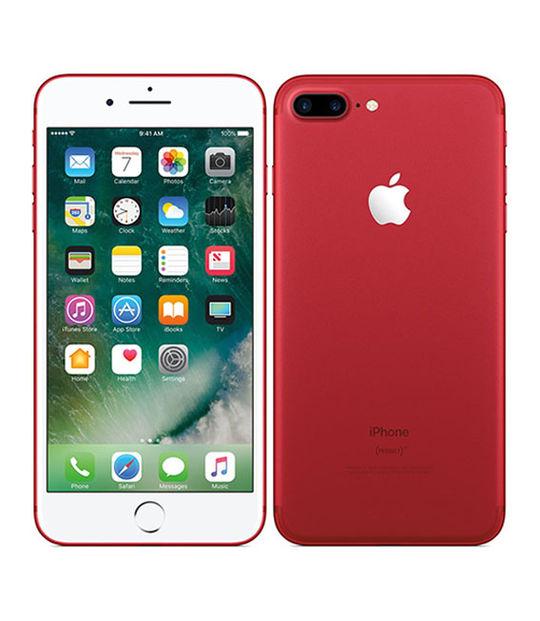 【中古】【安心保証】 SoftBank iPhone7Plus[256G] レッド SIMロック解除済