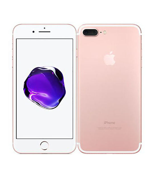 【中古】【安心保証】 SoftBank iPhone7Plus[32G] ローズゴールド SIMロック解除済