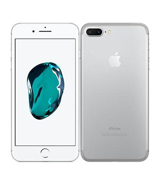 【中古】【安心保証】 SoftBank iPhone7Plus[128G] シルバー SIMロック解除済