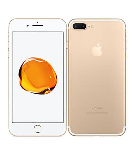 【中古】【安心保証】 SoftBank iPhone7Plus[128G] ゴールド SIMロック解除済