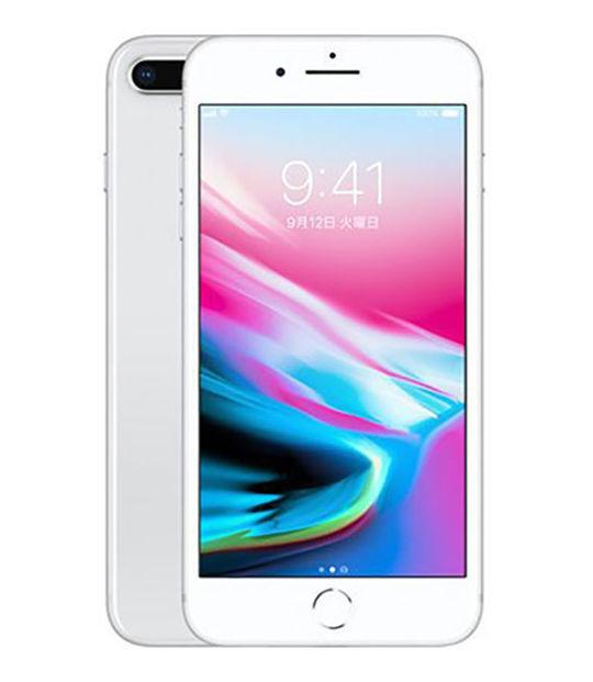 【中古】【安心保証】 au iPhone8Plus[256G] シルバー SIMロック解除済