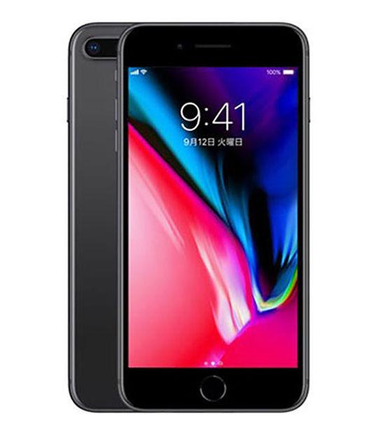 【中古】【安心保証】 SoftBank iPhone8Plus 256GB スペースグレイ SIMロック解除済