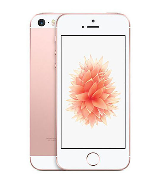 【中古】【安心保証】 docomo iPhoneSE 32GB ローズゴールド SIMロック解除済