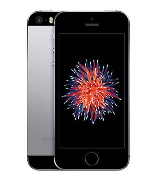 【中古】【安心保証】 docomo iPhoneSE[32G] スペースグレイ SIMロック解除済