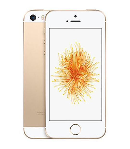 【中古】【安心保証】 docomo iPhoneSE[16G] ゴールド SIMロック解除済