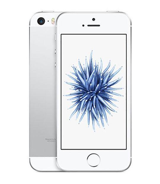 【中古】【安心保証】 SoftBank iPhoneSE 64GB シルバー SIMロック解除済