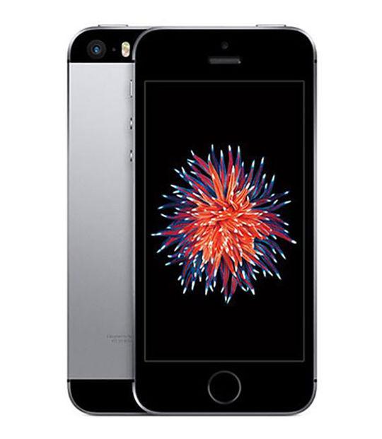 【中古】【安心保証】 SoftBank iPhoneSE 32GB スペースグレイ SIMロック解除済