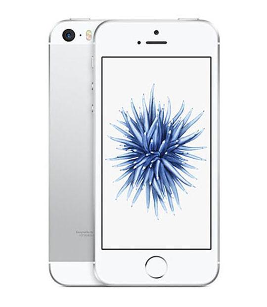 【中古】【安心保証】 SoftBank iPhoneSE[16G] シルバー SIMロック解除済