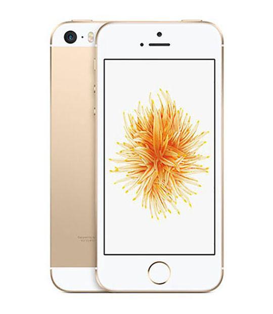【中古】【安心保証】 SoftBank iPhoneSE[16G] ゴールド SIMロック解除済
