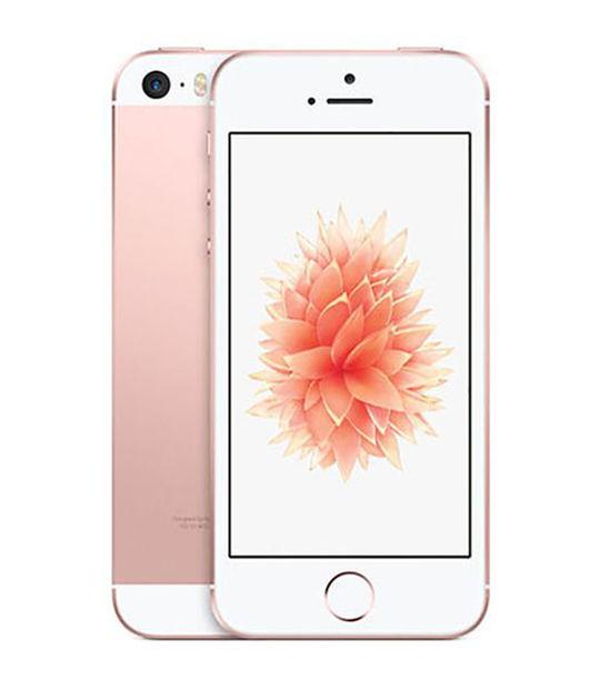 【中古】【安心保証】 SoftBank iPhoneSE[128G] ローズゴールド SIMロック解除済