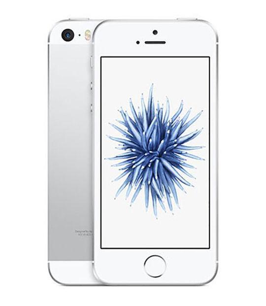 【中古】【安心保証】 SoftBank iPhoneSE 128GB シルバー SIMロック解除済