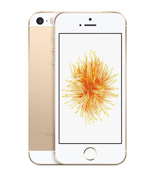 【中古】【安心保証】 SoftBank iPhoneSE[128G] ゴールド SIMロック解除済