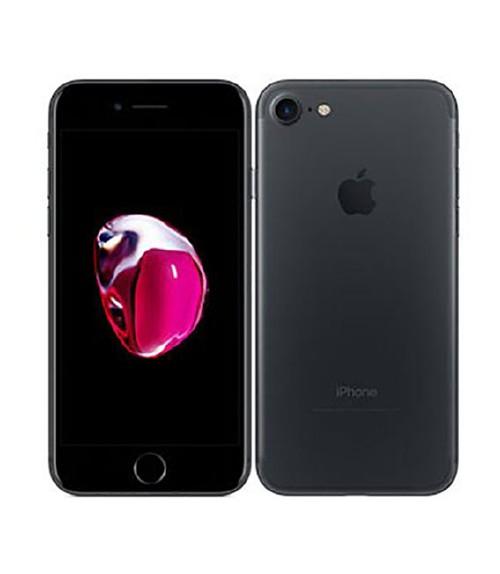 【中古】【安心保証】 au iPhone7[256G] ブラック