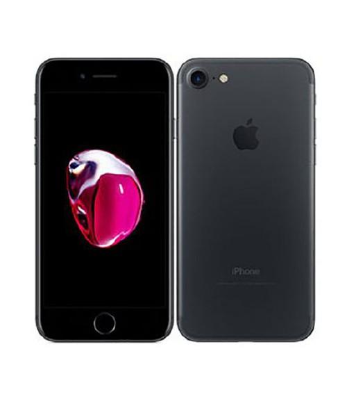 【中古】【安心保証】 au iPhone7[128GB] ブラック