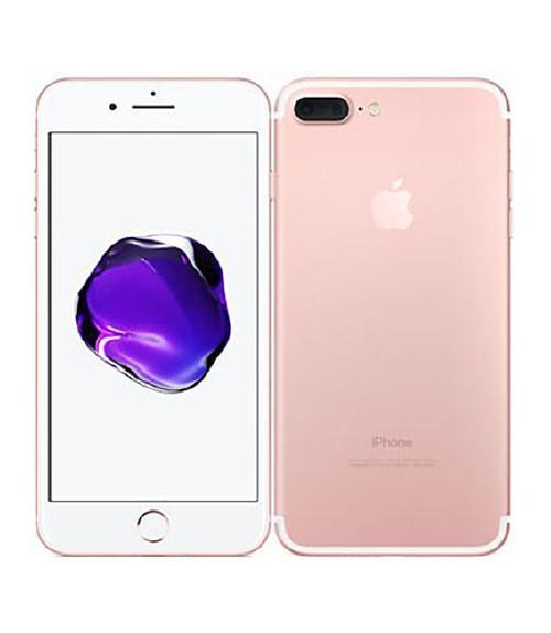 【中古】【安心保証】 au iPhone7Plus[256G] ローズゴールド