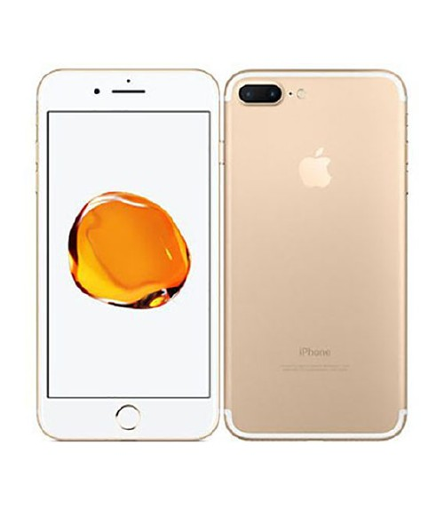 【中古】【安心保証】 au iPhone7Plus[256G] ゴールド
