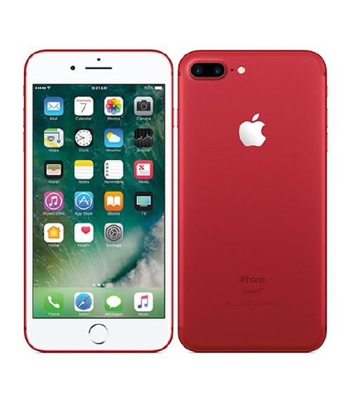 【中古】【安心保証】 au iPhone7Plus[128G] レッド