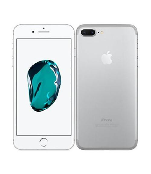 【中古】【安心保証】 au iPhone7Plus[128GB] シルバー