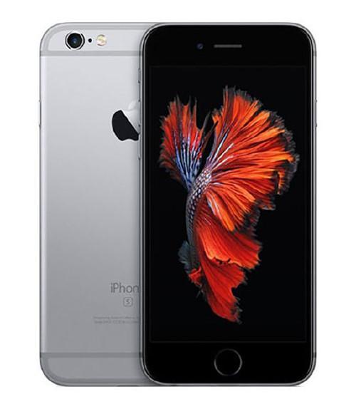 【中古】【安心保証】 au iPhone6s[32G] スペースグレイ