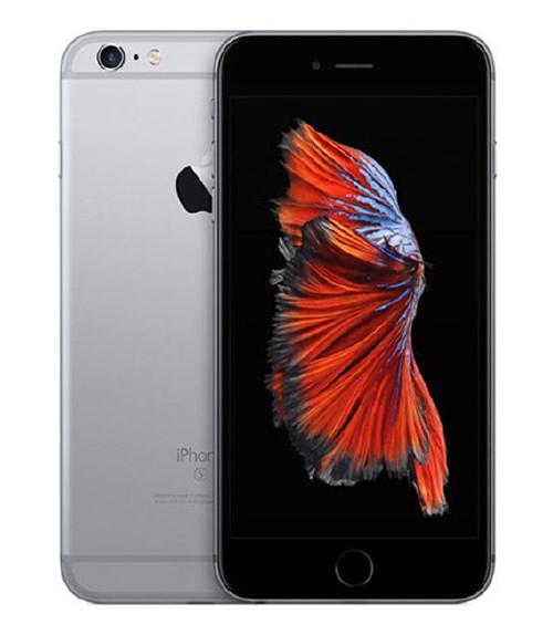 【中古】【安心保証】 au iPhone6sPlus[64G] スペースグレイ