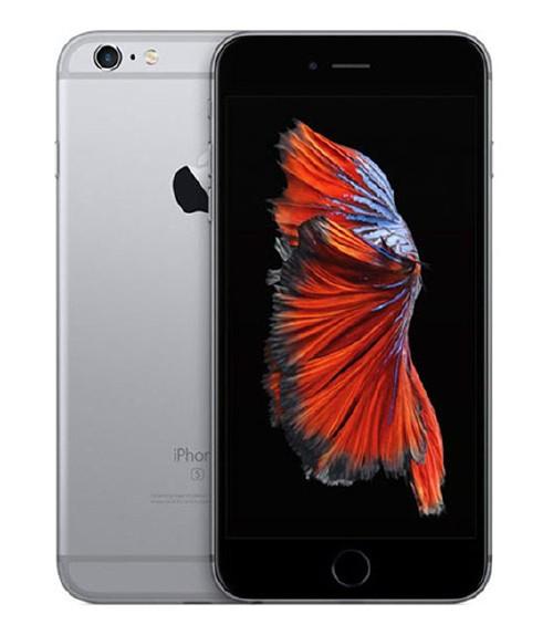 【中古】【安心保証】 au iPhone6sPlus[32G] スペースグレイ