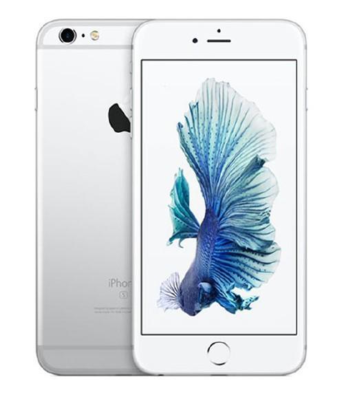 【中古】【安心保証】 au iPhone6sPlus[128G] シルバー