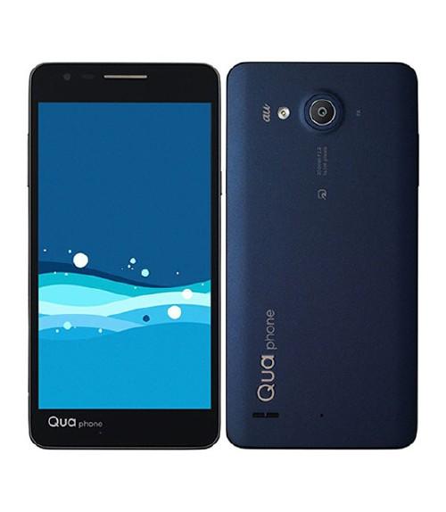 Qua phone PX LGV33(ネイビー)