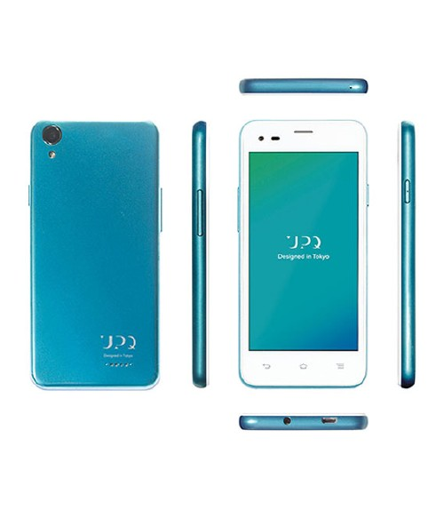 SIMフリー UPQ Phone A01X 16GB + Q-music QBE10 セット