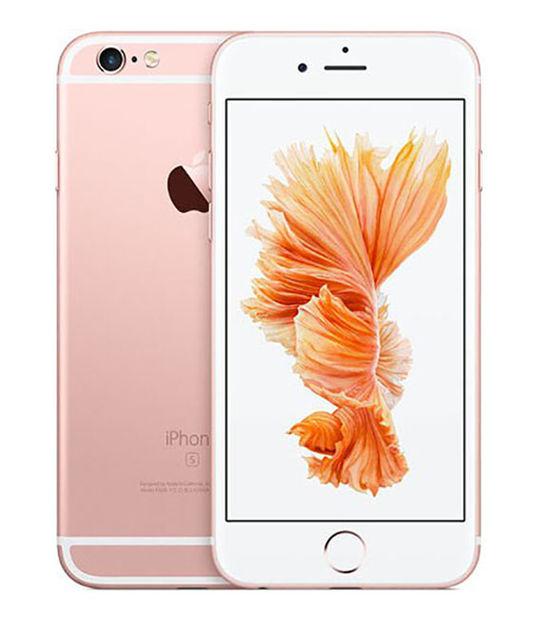 【中古】【安心保証】 SIMフリー iPhone6s[海外128G] ローズゴールド