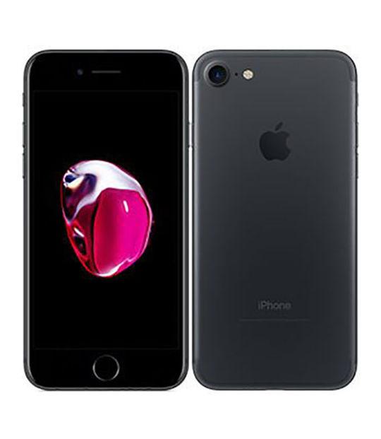 【中古】【安心保証】 SIMフリー iPhone7[海外128G] ブラック