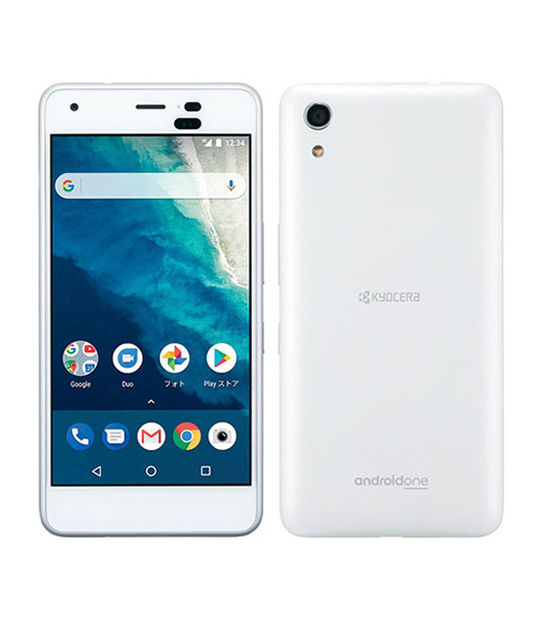 【中古】【安心保証】 Y!mobile Android One S4 ホワイト